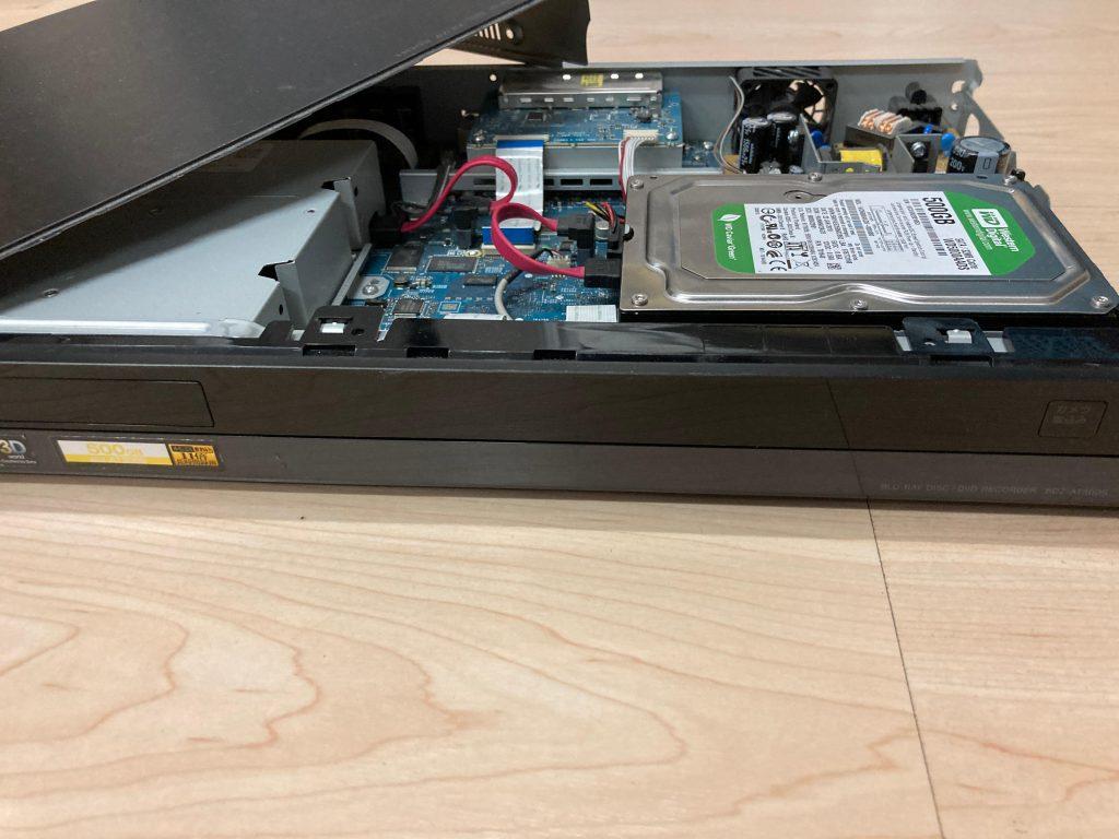 データ復旧 SONY BDZ-AT300S HDDレコーダー
